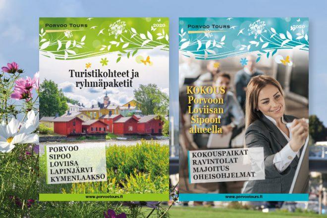 Porvoo Toursin matkailuesitteet 2020