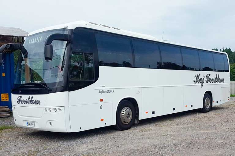 Kaj Forsblom reittiliikenne bussi
