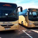 Kaj Forsblom Oy:n 49-paikkaiset turistibussit