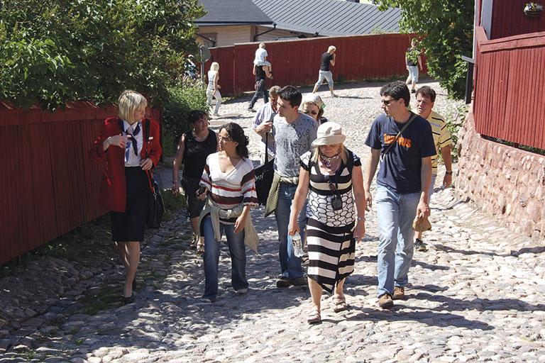Guiding in Porvoo