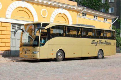 Kaj Forsblom Sightseeing bus